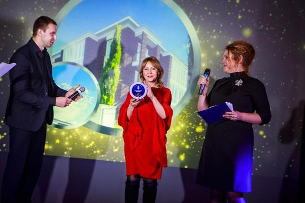 """нагородження жк RIVER HOUSE в місті Українка в номінації """"відкриття року 2016"""""""